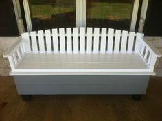 Porch Storage Bench