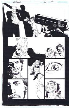100 Bullets 99 page 10 Eduardo Risso Comic Art
