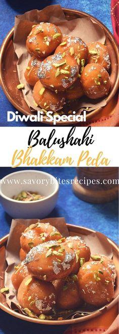 Diwali sweet and very famous for any wonderful occassion,its Badusha/Balushahi/Goan Bhakkam Peda! Perfect melt in mouth dessert.