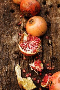 Pomegranates by Mónica Isa Pinto, via Flickr