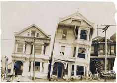 San Francisco Earthquake. 1906.