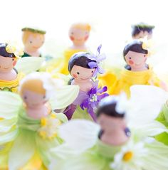 DIY Tutorial: Wooden Peg Fairy Dolls - How to make wooden peg dolls