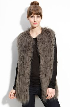 "fur vest? yes please - fab for now, ""what was I thinking?"" in twenty years"