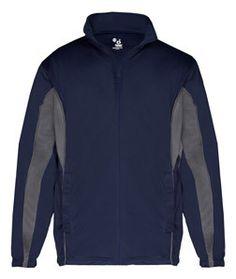 Badger Adult Drive Jacket B7703 Navy/ Graphite