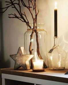 Boho Christmas Decor Inspiration - Weihnachten & Christmas - Fashion and Recipes Diy Christmas Decorations, Decorating With Christmas Lights, Holiday Decor, Holiday Lights, Handmade Decorations, Noel Christmas, Christmas Crafts, Christmas Fashion, Handmade Christmas