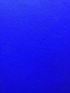 Majorelle blue at Majorelle garden.