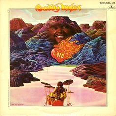 Buddy Miles : Buddy Miles Live (LP, Vinyl record album) - One of the most soulful sets ever recorded by the Buddy Miles Group – a really searing set of -- Dusty Groove is Chicago's Online Record Store Lp Vinyl, Vinyl Records, Buddy Miles, African Mythology, Classic Album Covers, Album Cover Design, Music Guitar, Music Albums, Religious Art