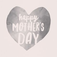 Much love to all the awesome mamas in the world today.