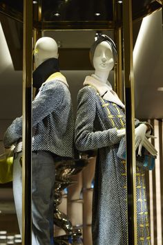 The new Fendi vending machine windows in Paris