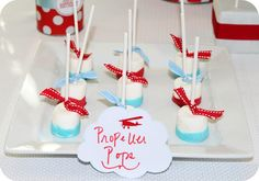 Dulces para una fiesta aviones / Sweets for an airplane party