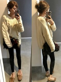 このニット大好きすぎる♡ 詳細はInstagram → sayaka__sea Winter Outfits, Casual Outfits, Comfortable Fashion, Japanese Fashion, Wardrobes, Fashion Pants, Outfit Of The Day, Winter Fashion, Style Inspiration