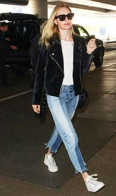 10 Airport Outfit Ideas to Pin for Thanksgiving Travel via /WhoWhatWear/