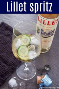 Everyone knows about THAT spritz, but this more mellow Lillet spritz is definitely one to get to know as well. It's light and gently fruity, with just enough bubbles. And so incredibly easy too. Perfect for brunch, aperitivo hour or summer sipping. #lillet #aperitivo #sparklingcocktail Fun Cocktails, Cocktail Drinks, Fun Drinks, Alcoholic Drinks, Easy Drink Recipes, Best Cocktail Recipes, Vodka Slushies, Peach Sangria, Happy Hour Drinks