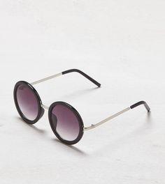 Black AEO Round Tinted Sunglasses
