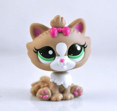 Littlest Pet Shop CAT Collection Child Girl Figure Cute Toy Loose LPS753