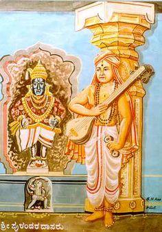Purandara dasa: grandfather of Carnatic music