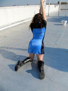 Star Trek TNG Blue Ladies dress uniform.
