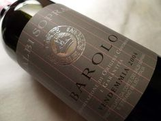 Barolo is one of the best red wines of Italy. Piedmont region of Italy is most famous representative of the specialty.  Barolo had me with the first sip - my favorite of Italian wines.