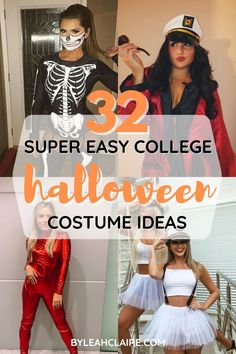 The best easy college halloween costumes. You'll obsess over these halloween costume ideas for college girls. Halloween Costume Ideas, Easy College Halloween Costumes, My College, College Girls, Group, Board, Blog, Sign, Planks