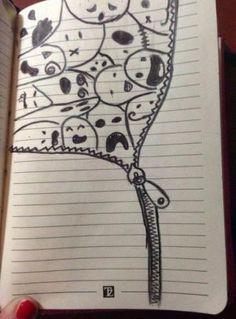 drawing для drawings sketches рисунки личного дневника идеи easy pencil картинках картинки dibujos draw para animal cool doodle creative cartoon