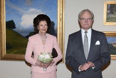 TM King Carl Gustaf and Queen Silvia of Sweden 2/7/2015