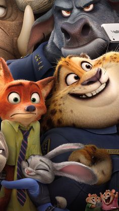 Disney's Zootopia or Hug Attack!!! this is so cute