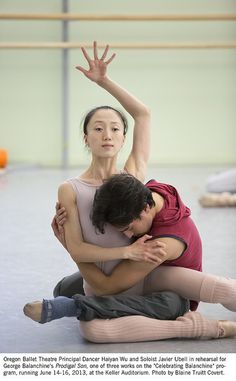 OBT - Celebrating Balanchine Rehearsal by Oregon Ballet Theatre, via Flickr