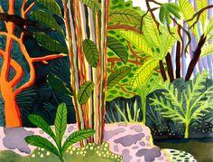 Singapore Botanic Gardens: the marsh.  by Tyers.