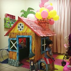#UP #kartonproject #toddlerplayhouse