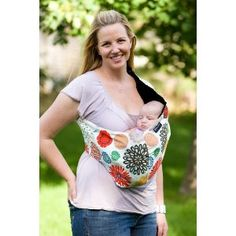 Budget Baby Wearing- Homemade Carriers, Extremely Frugal Baby Carriers