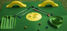 Mobile Crazy Golf | Crazy Golf Obstacles | 9 Hole Set