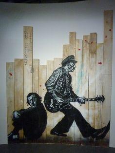 JEF AEROSOL  #street #art #urban #art #stencil