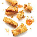 Crispy Pork Spring Rolls Recipe | MyRecipes.com