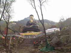 Golden Buddha at Bukhansan