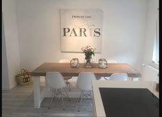 Esstische - LandhausEsstisch aus Bauholz in grey wash gewachst - ein Designerstück von bauholz bei DaWanda