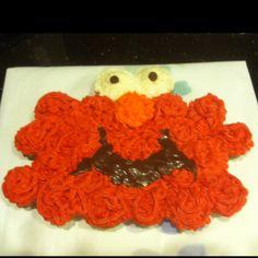Elmo birthday cake :-)