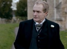 'No. Let him go. let him go. You know he's right. Don't stop him from doing the only sensible thing he's come up with in months...' (Violet)     'Thank you Lady Grantham' (Anthony)