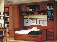 Dormitorio puente barco