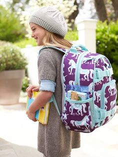 Nice backpack! :)