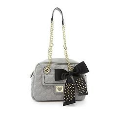 Betsey Johnson Be My Sweetheart Square BJ34415 Satchel,Grey,One Size Betsey Johnson http://www.amazon.com/dp/B00LFLRUGA/ref=cm_sw_r_pi_dp_3cXnvb1P82E6W