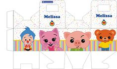 Plim Plim - Página web de diseñokitdecumpleaños Elmo Party, Ideas Para Fiestas, Favor Boxes, Toys For Boys, First Birthdays, Kids Rugs, Kawaii, Baby Shower, Salvador