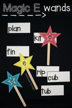 Motivating Magic E Activities - Playdough To Plato