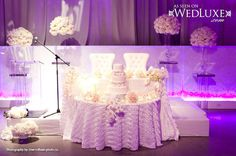 WedLuxe: table for the couple #wedding