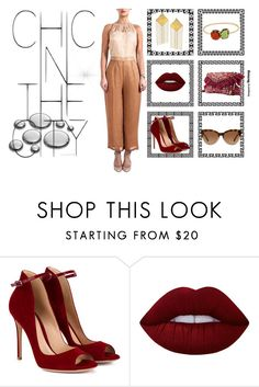 """Chic in the City"" by strandofsilk ❤ liked on Polyvore featuring Gianvito Rossi, Lime Crime and Michael Kors"