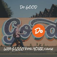 Get Doofl and try to win a $1,000 for a worthy charity. For FREE! www.doofl.com/