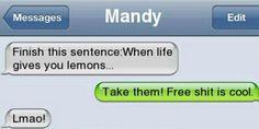 WTF text... LMAO!!!