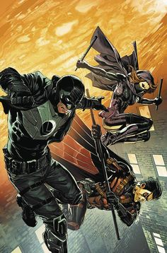 Batman and Robin Eternal (2015) Issue #23