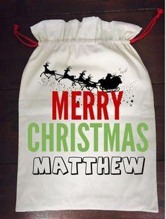 Calico Santa Sack - Merry Christmas Santa Sack, Santas Workshop, Christmas Stockings, Festive, Merry Christmas, Treats, Sweatshirts, Needlepoint Christmas Stockings, Merry Little Christmas