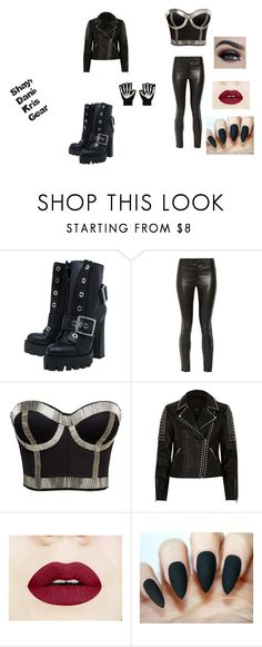 """""""Shay, Dani, Kris Gear"""" by katie88styles on Polyvore featuring Alexander McQueen, J Brand, Alivila.Y Fashion, River Island and Hot Topic"""