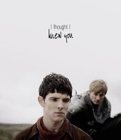 When he said that Merlin must have felt like he was getting stabbed in the heart